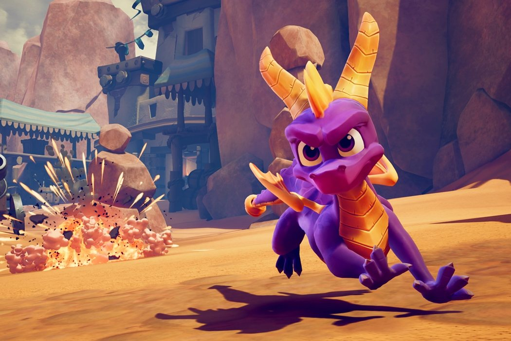 Elijah Wood ('Spyro the Dragon')