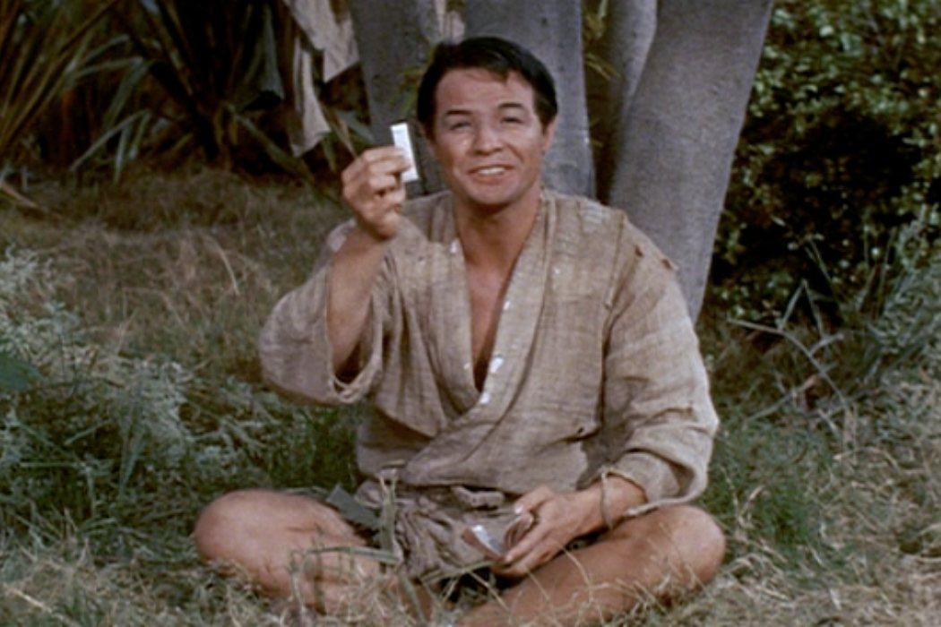 Sakini en 'La casa de té de la luna de agosto' (1956)