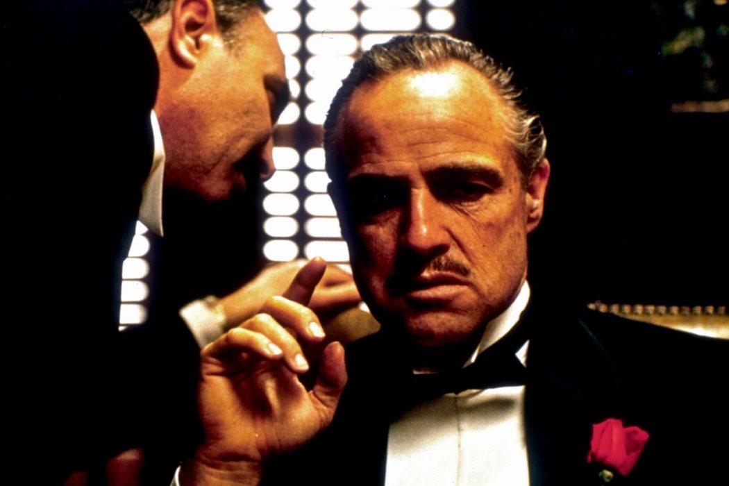 Don Vito Corleone en 'El Padrino' (1972)