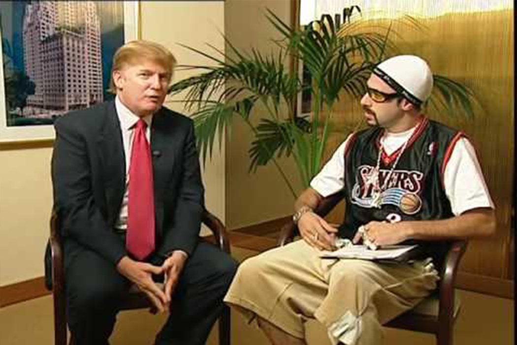 Ali G y Donald Trump