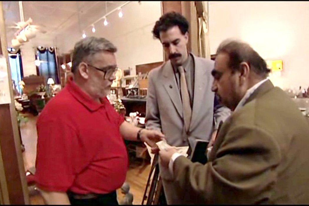 La pelea en 'Borat'