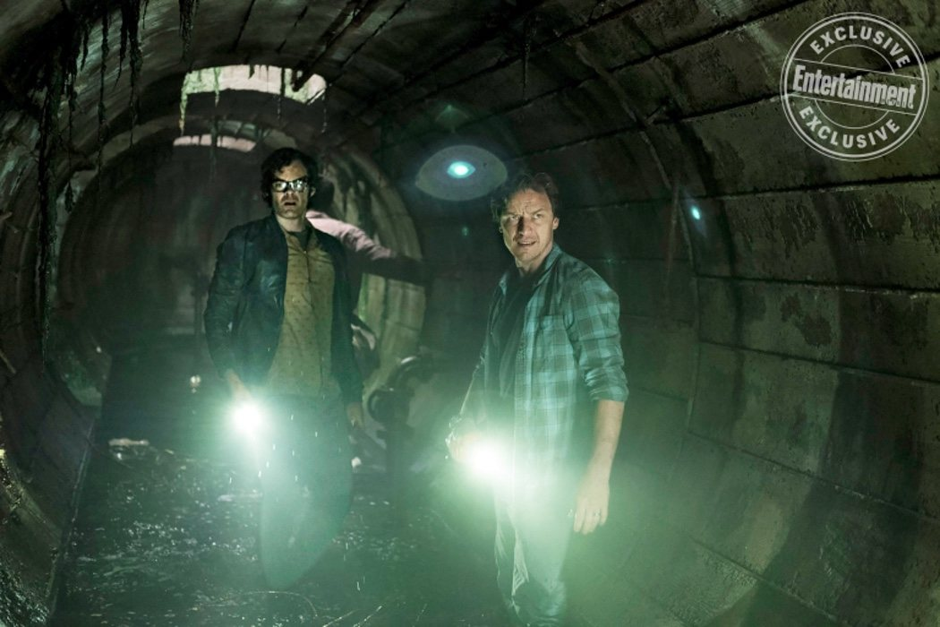 Bill Hader (Richie) y James McAvoy (Bill)
