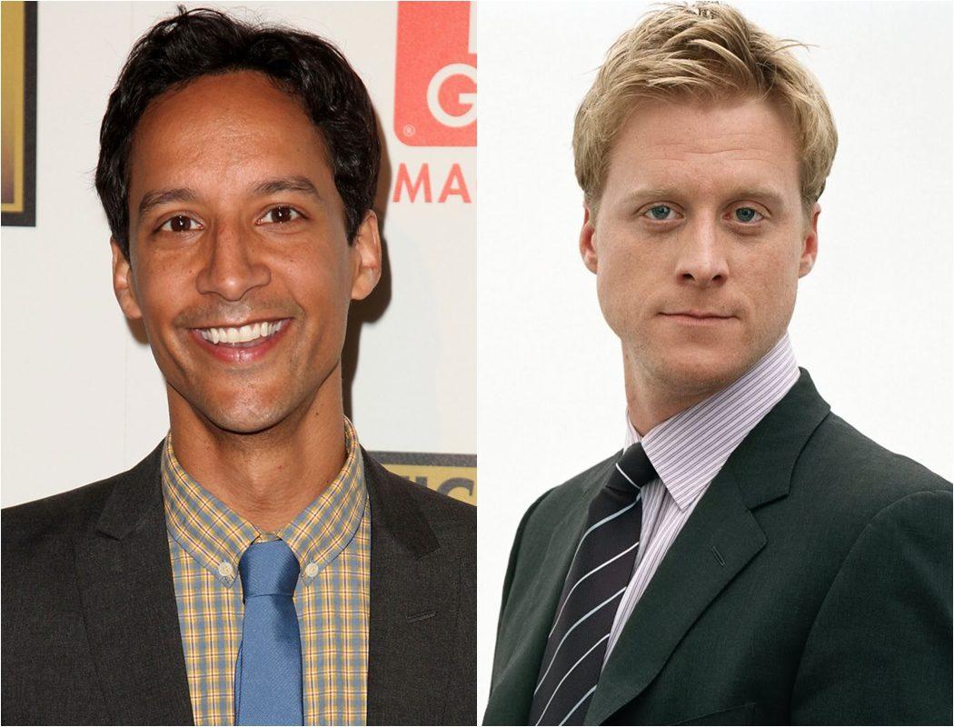 Danny Pudi y Alan Tudyk fichan por 'Powerless' de la NBC
