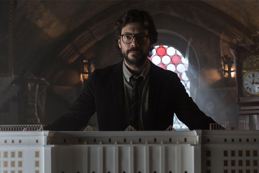 El Profesor (Álvaro Morte)