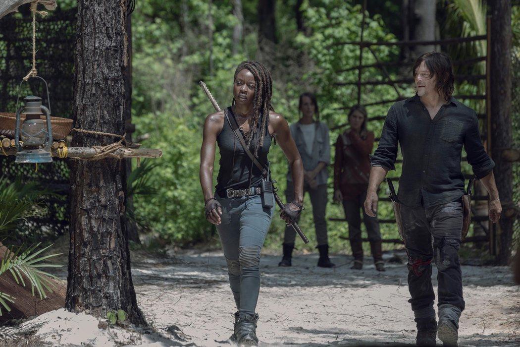 Michonne y Daryl