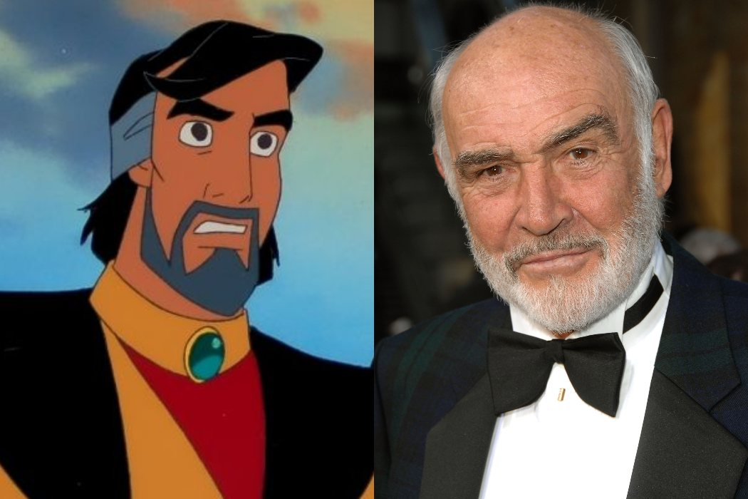 Sean Connery iba a ser el padre de Aladdin