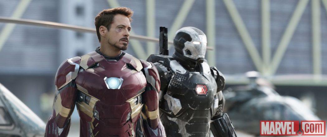Iron Man y War Machine
