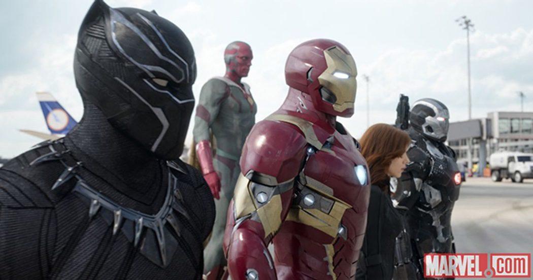 Iron Man y su grupo