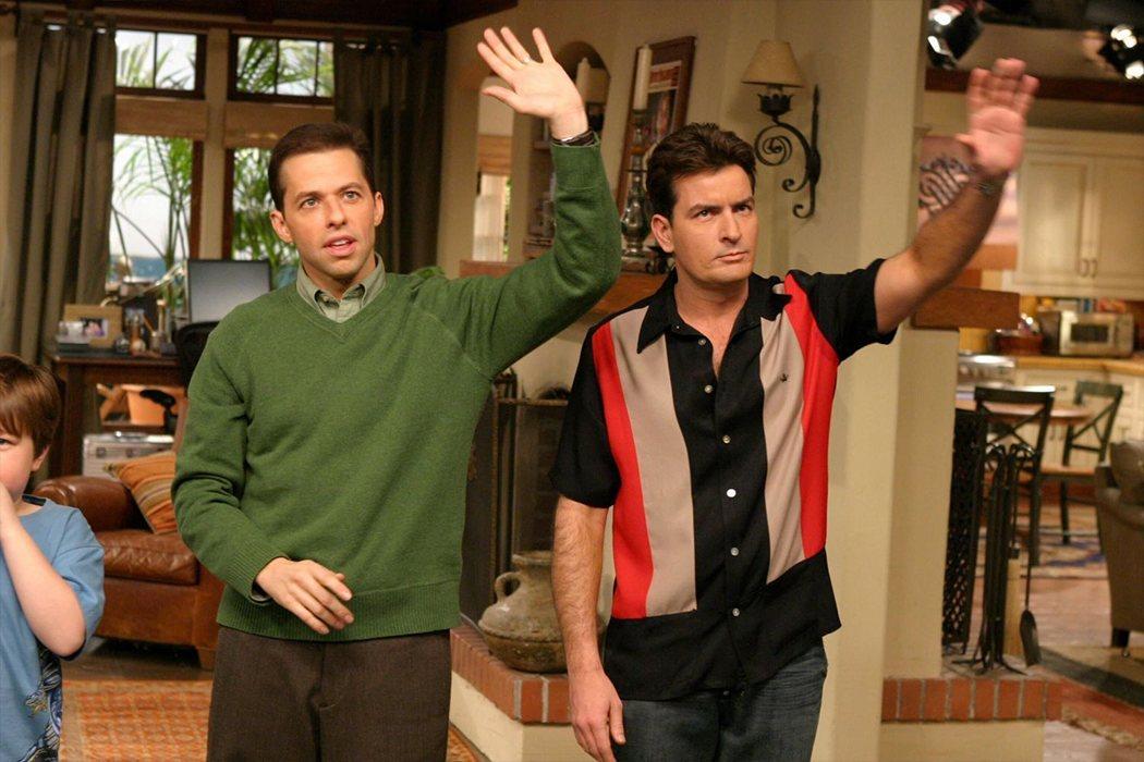 Charlie y Alan 'Dos hombres y medio'