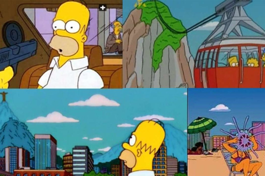 'Los Simpson' - Brasil