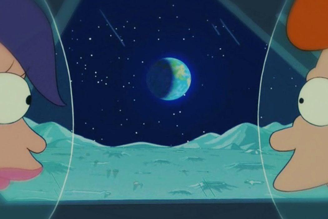 'Futurama' - La Luna