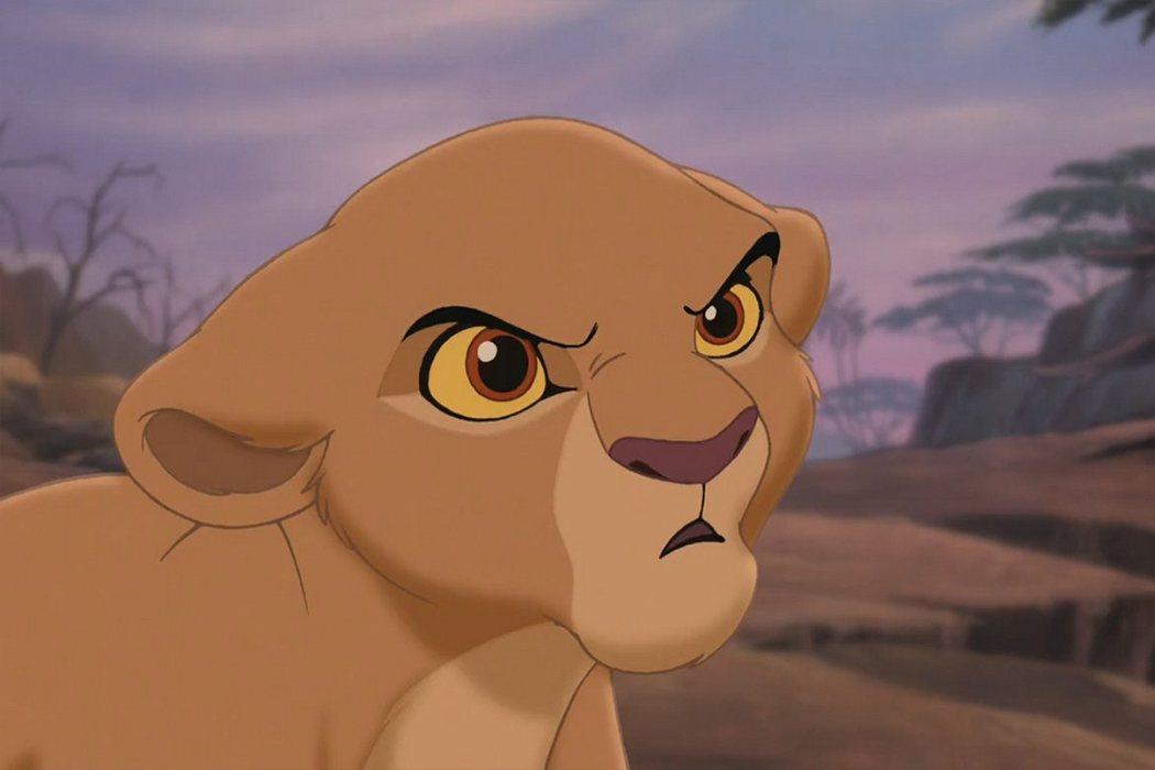 'El rey león 2' (Kiara joven)