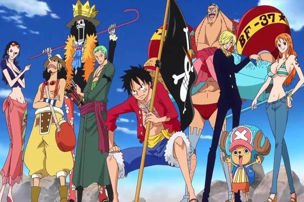 Luffy y su banda
