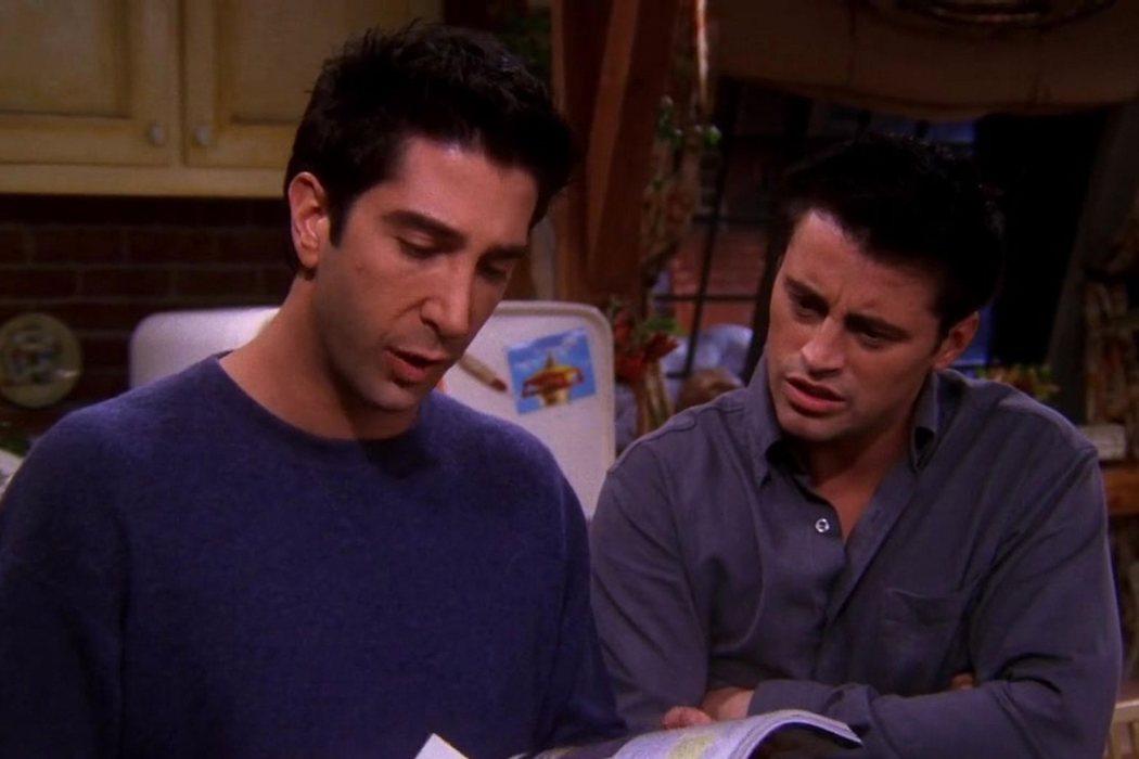 6x09: 'En el que Ross se coloca'