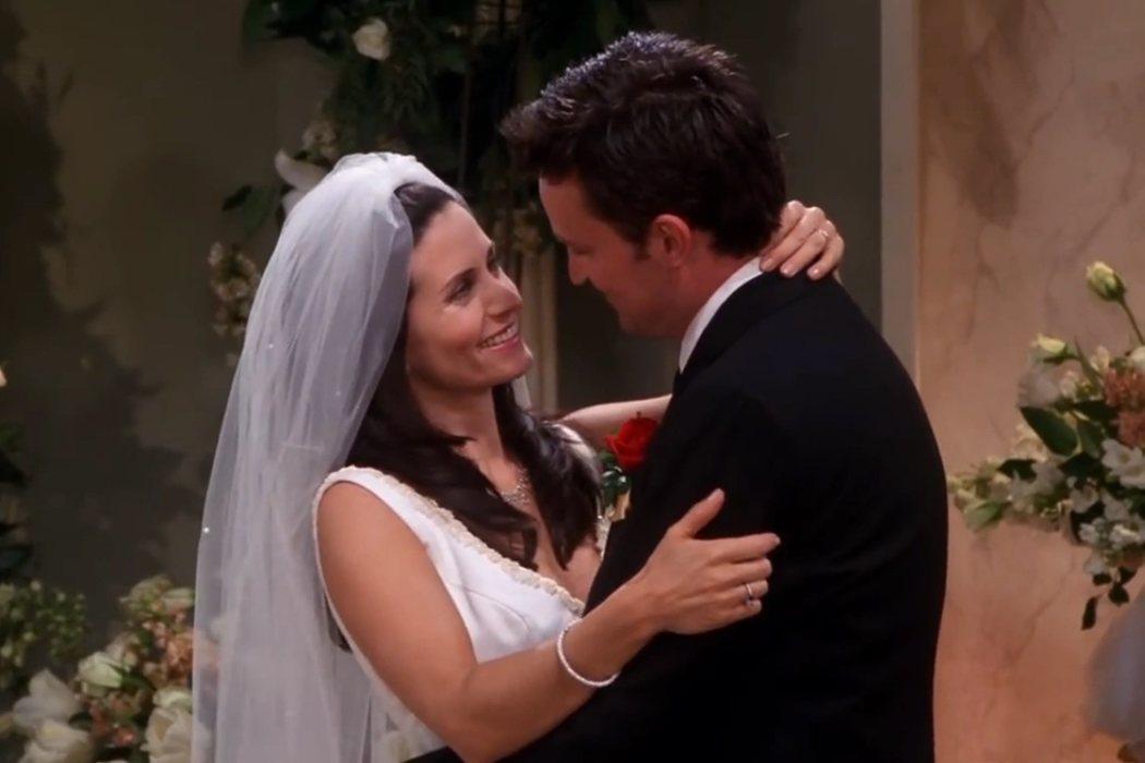 7x24: 'El de la boda de Mónica y Chandler'