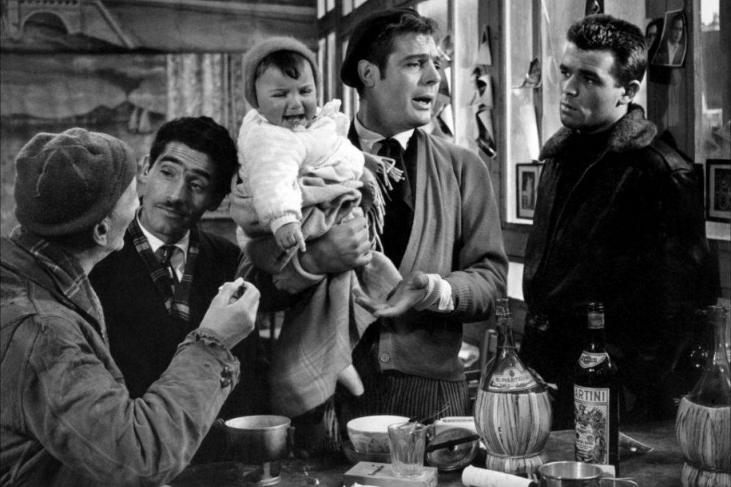 Tiberio Rossi en 'Rufufú' (1958)