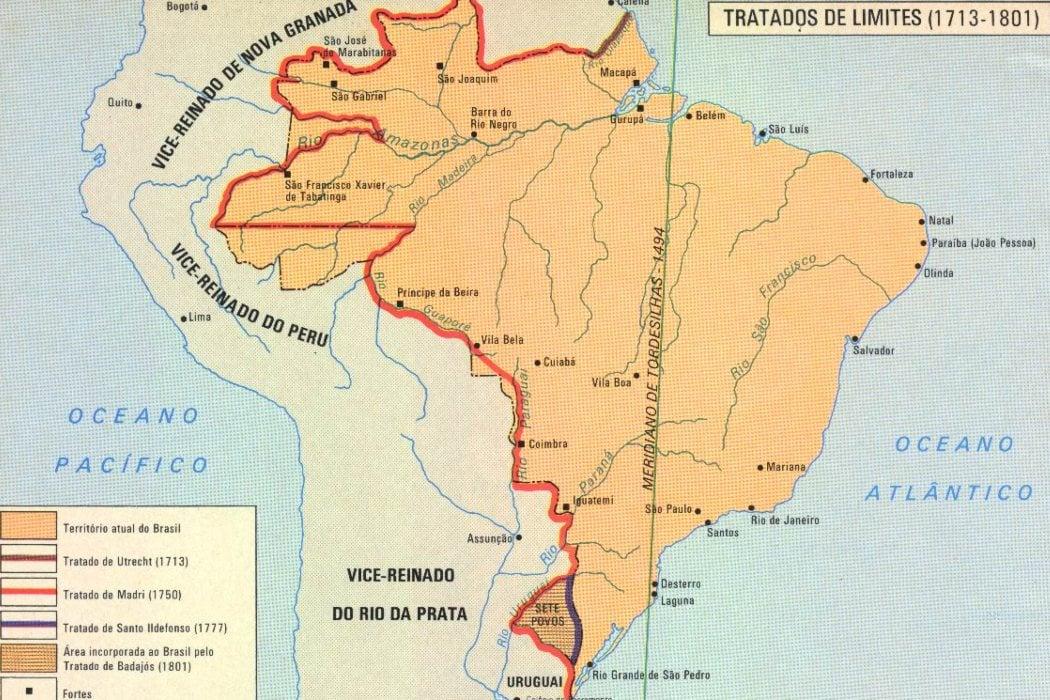 Contexto histórico: El Tratado de Madrid de 1750
