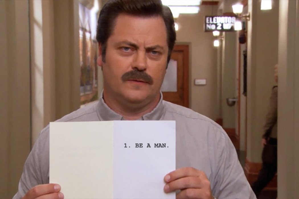 Ron Swanson 'Parks and Recreation'