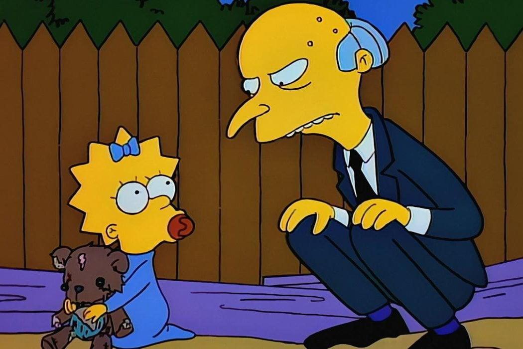 El Señor Burns 'Los Simpson'