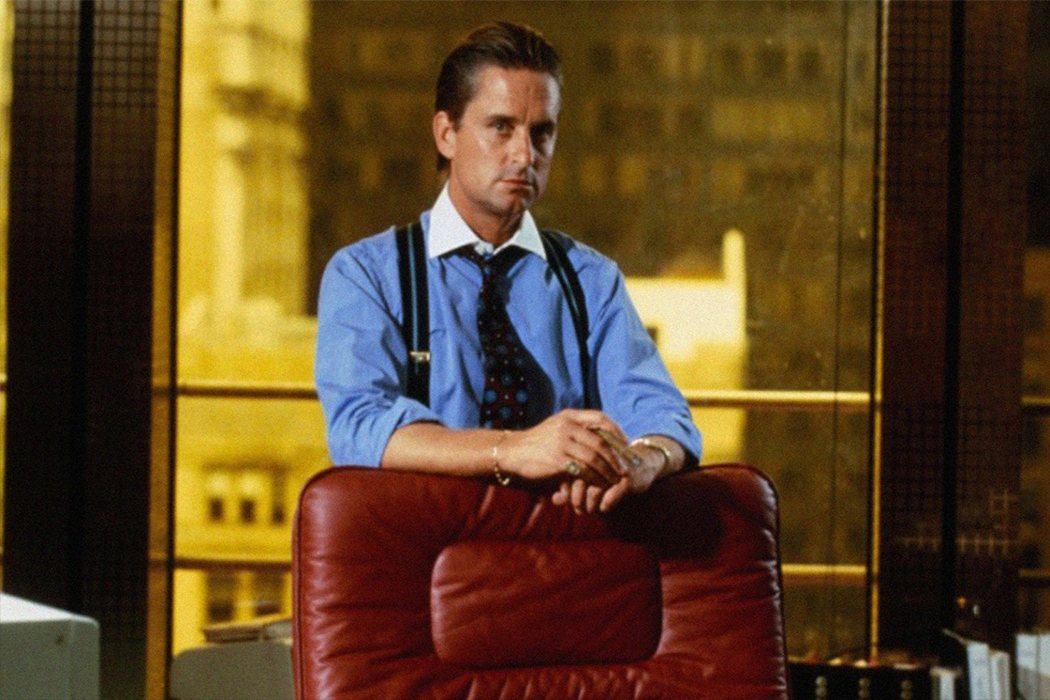 Gordon Gekko 'Wall Street'