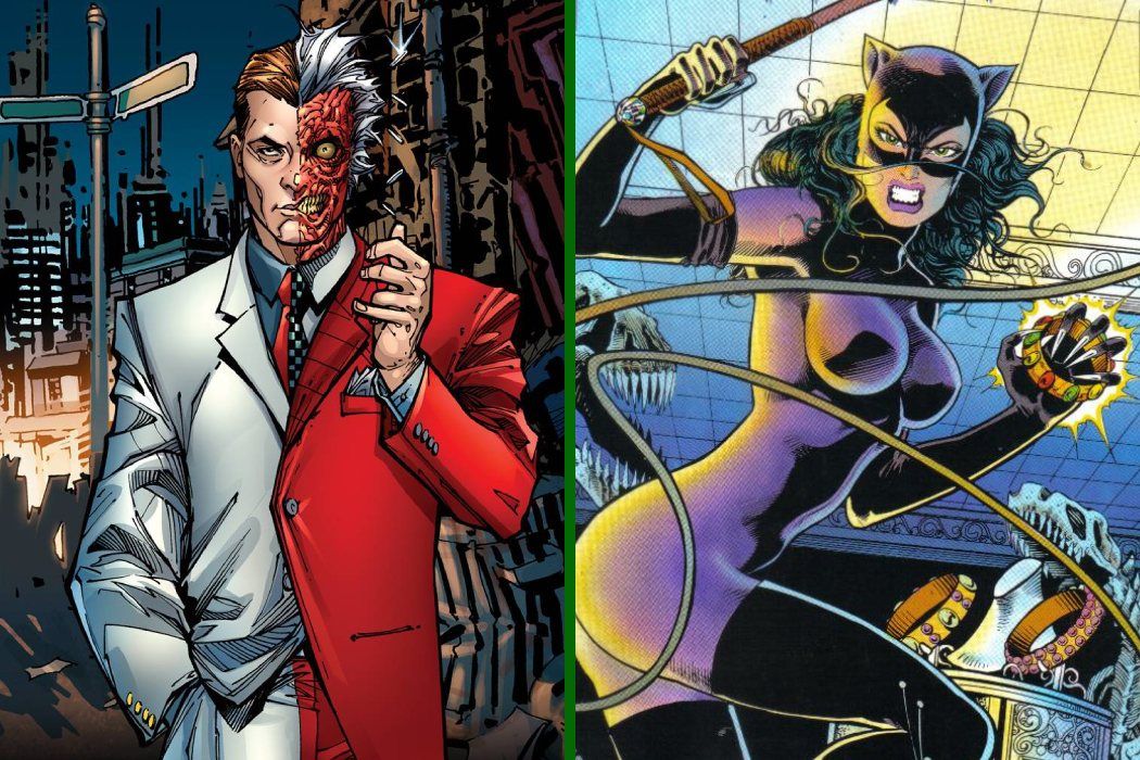 """Catwoman y Harvey """"Dos Caras"""""""