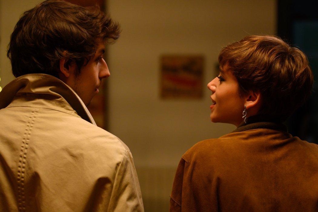 Rai (Pablo Capuz) y Minerva (Azul Fernández): amigos de Pol