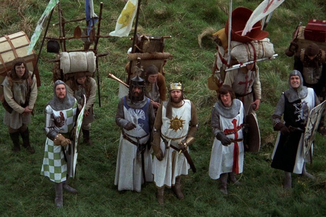 Humor medieval: Los caballeros de la mesa cuadrada y sus locos seguidores
