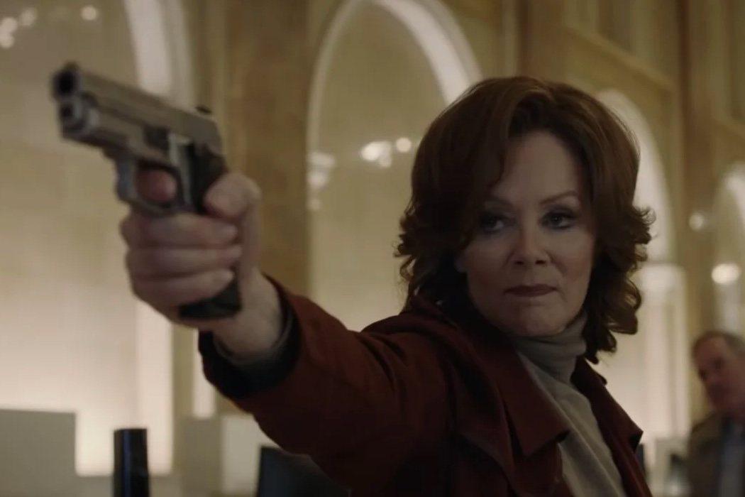 Jean Smart es Laurie Blake (Espectro de Seda II)