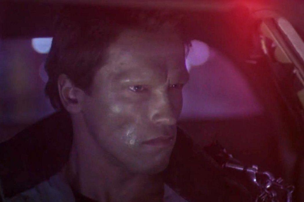 Policía en el rodaje