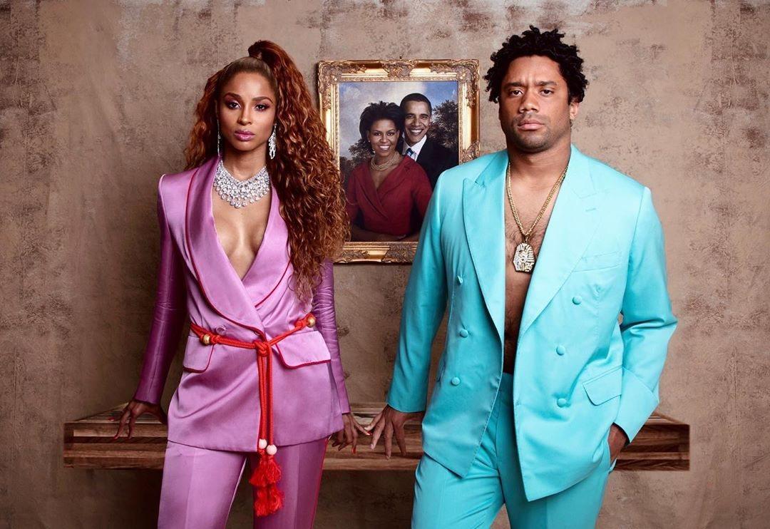 Ciara y su marido, Russel Wilson, de Beyoncé y Jay-Z