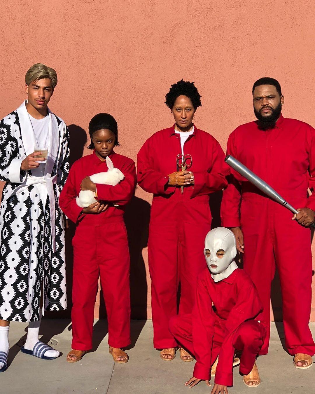 El elenco de 'Black-ish' de la película 'Nosotros'