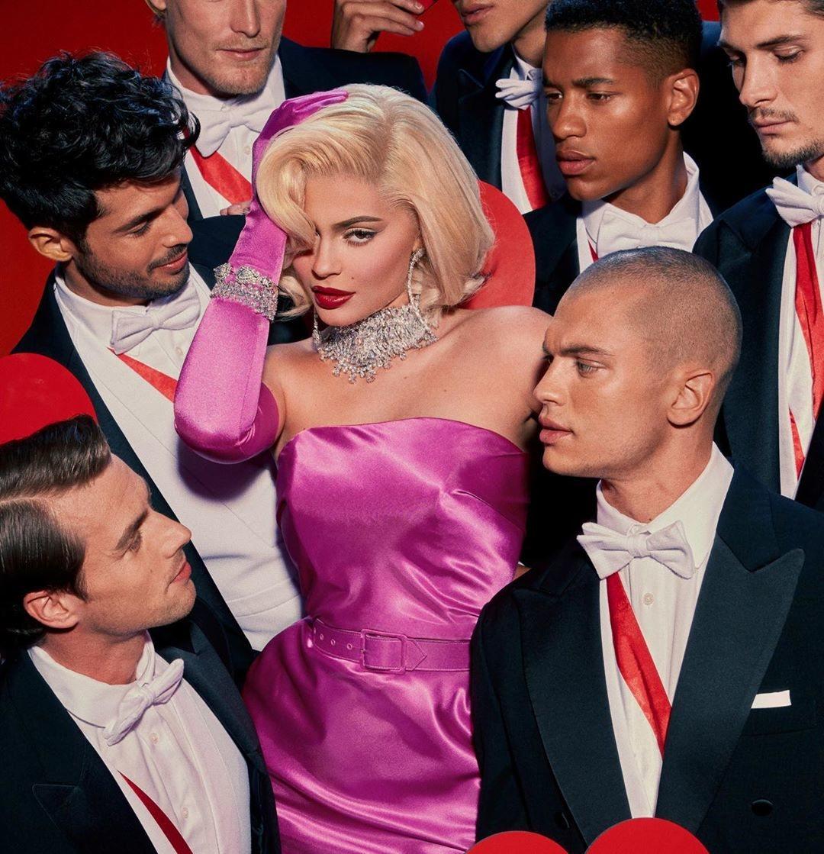 Kylie Jenner de Marilyn Monroe