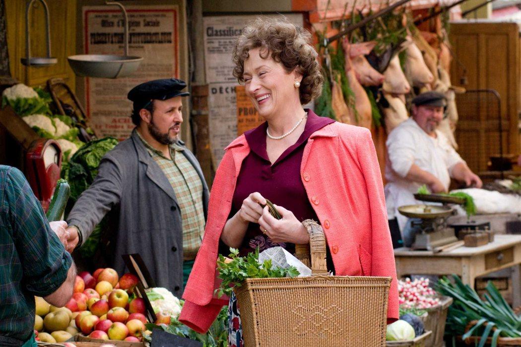 Meryl Streep ganó peso durante el rodaje de la película