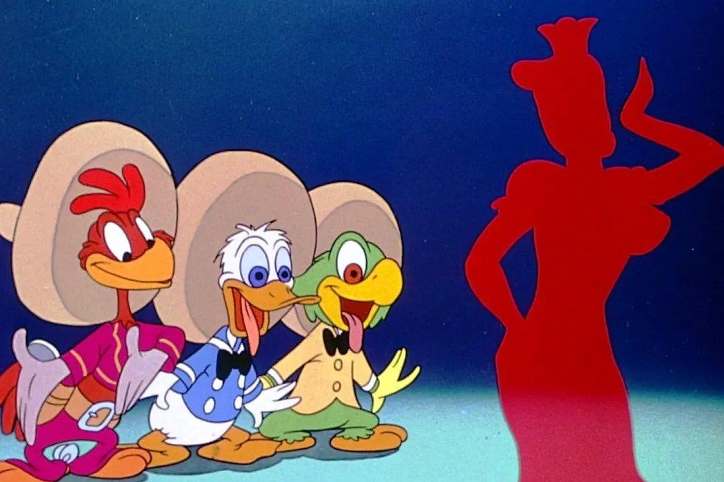 'Los tres caballeros'