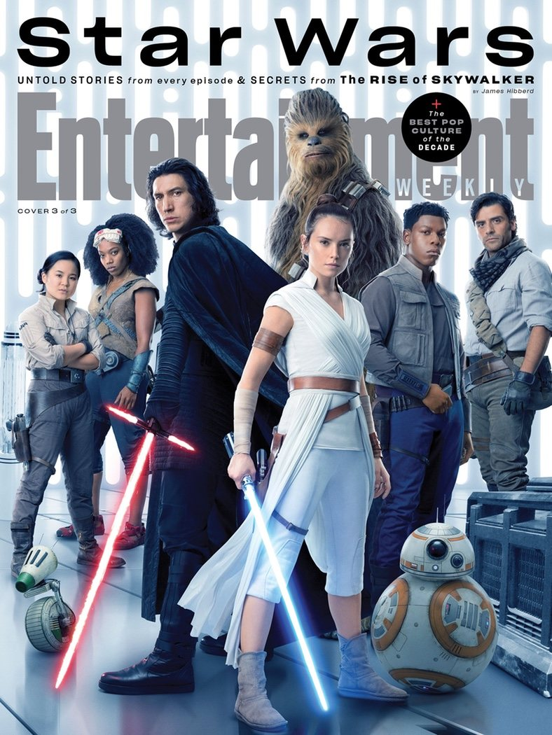 Portada Entertainment Weekly de la Saga de las secuelas