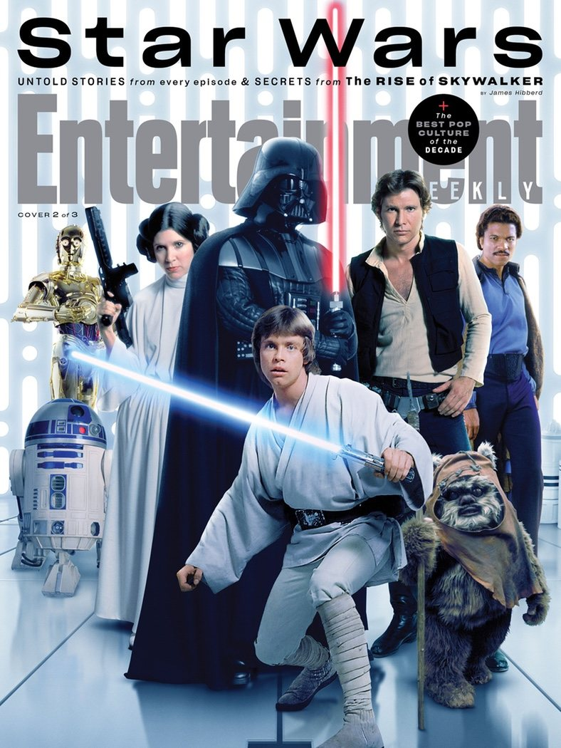 Portada Entertainment Weekly de la Saga original