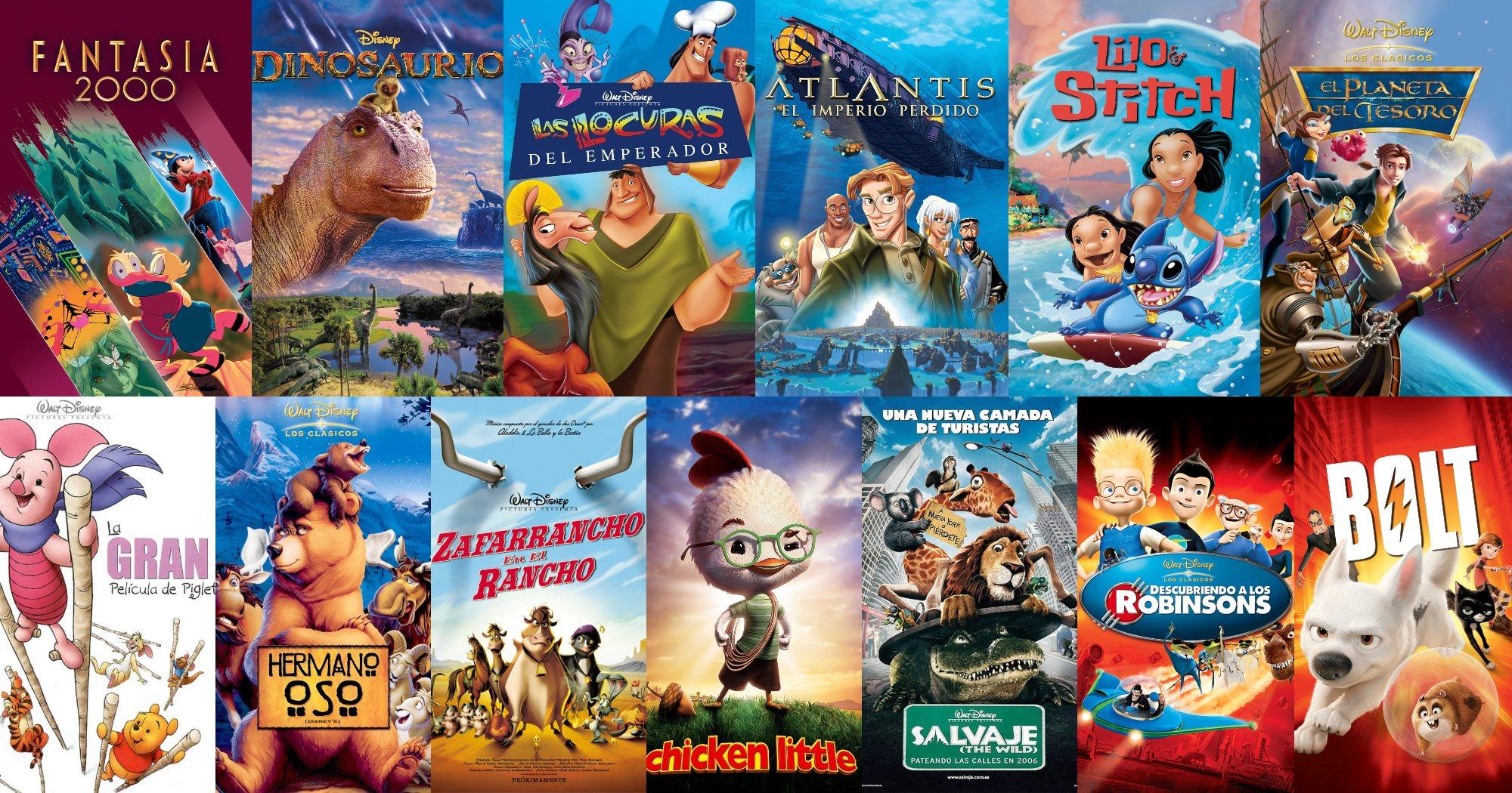 Segunda Etapa Oscura o Post-Renacimiento Disney (1999 - 2008)