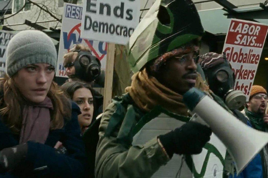 Sam en 'Batalla en Seattle' (2007)