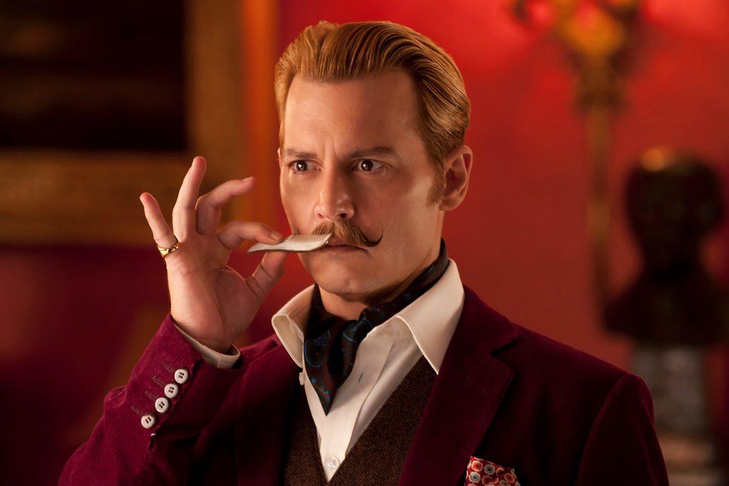 Johnny Depp - 'Mortdecai'