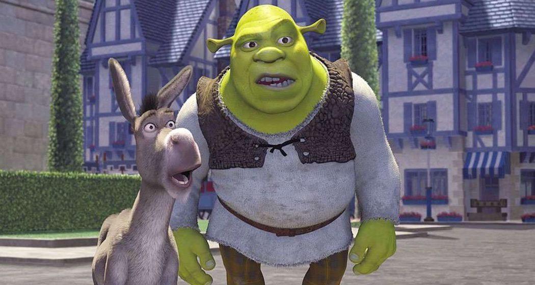 Shrek y asno