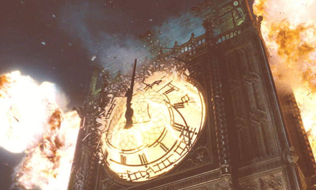 Las explosiones de la película son reales