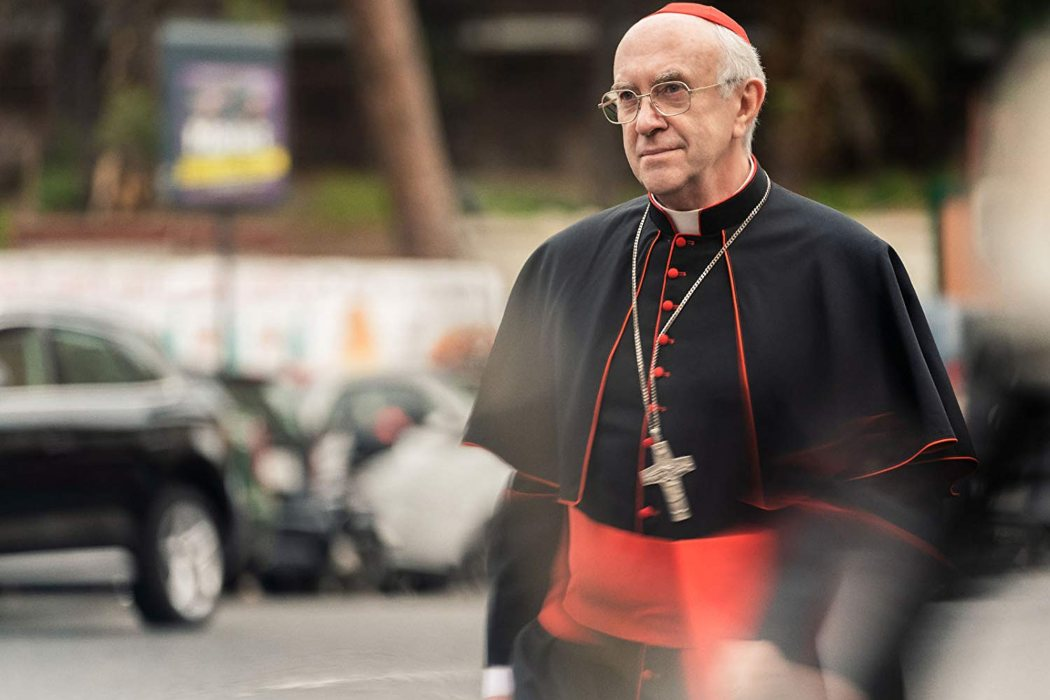 Papa Francisco en 'Los dos papas' (2019)