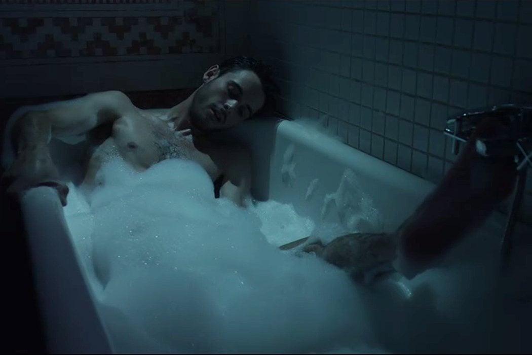 La masturbación acuática de Bruno Bergeron