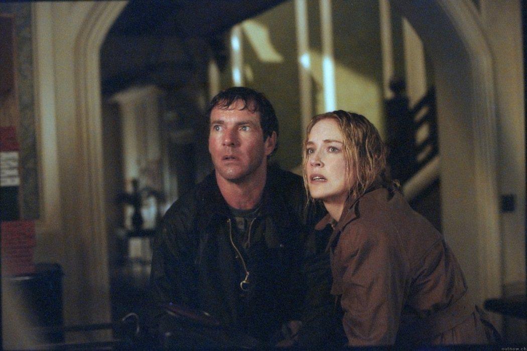 Sharon Stone & Dennis Quaid ('La Casa')