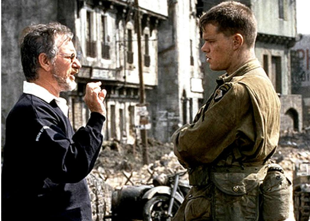 Steven Spielberg: ¿Quién es ese Matt Damon?