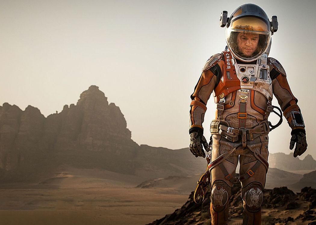 'Marte (The Martian)', excelente resultado para Damon