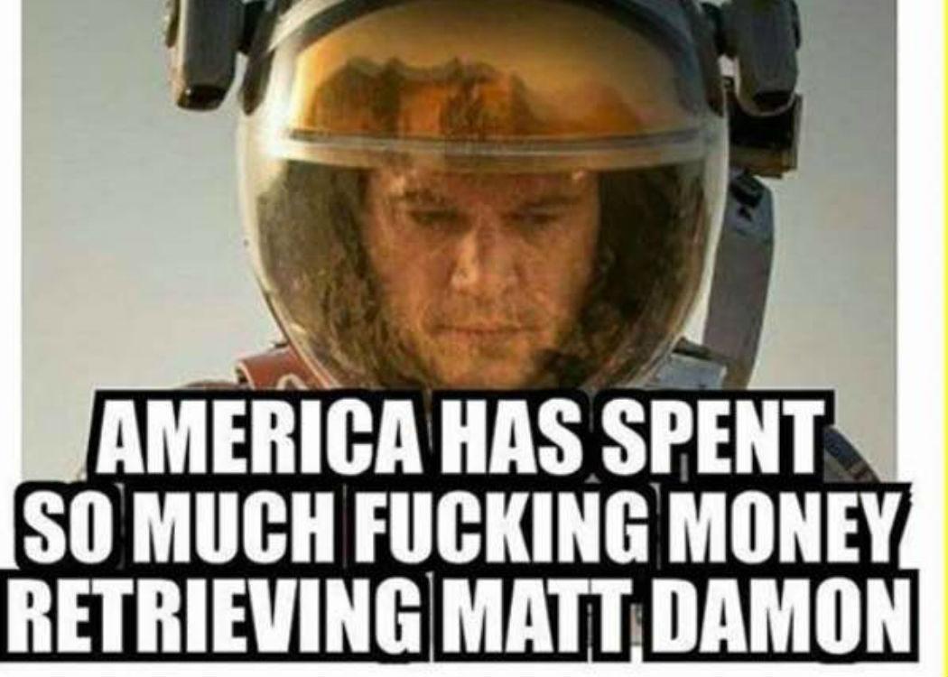 Misión: Salvar a Matt Damon