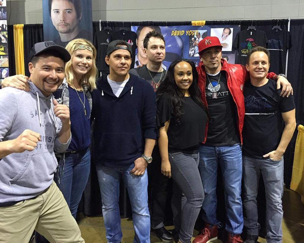 Reencuentro de los 'Mighty Morphin Power Rangers'