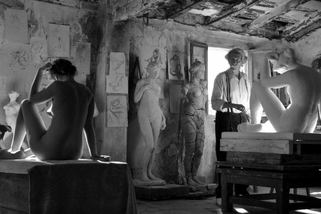 'El artista y la modelo' (2012)