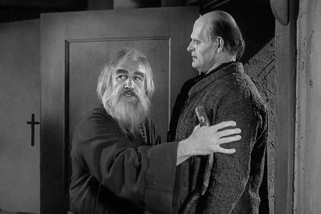 El ermitaño ciego en 'El jovencito Frankenstein'